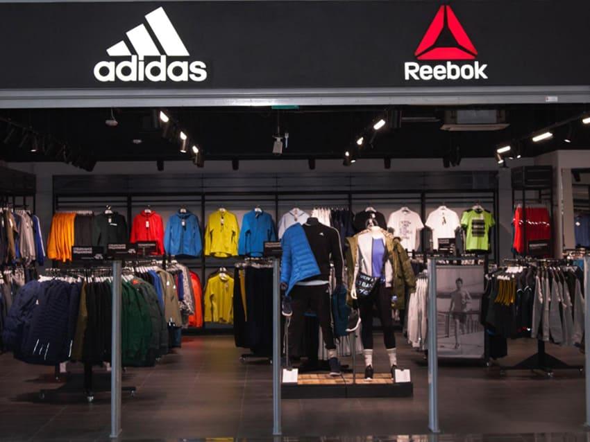 Электромонтаж для магазина adidas