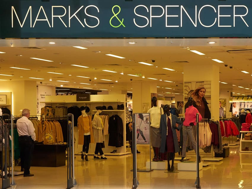 Электромонтаж для магазина marksandspencer