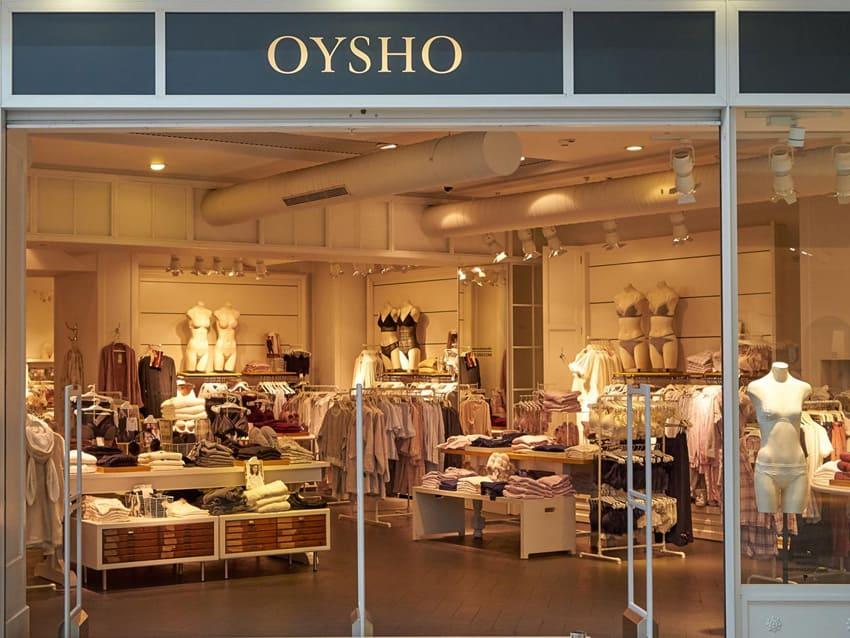 Электромонтаж для магазина oysho
