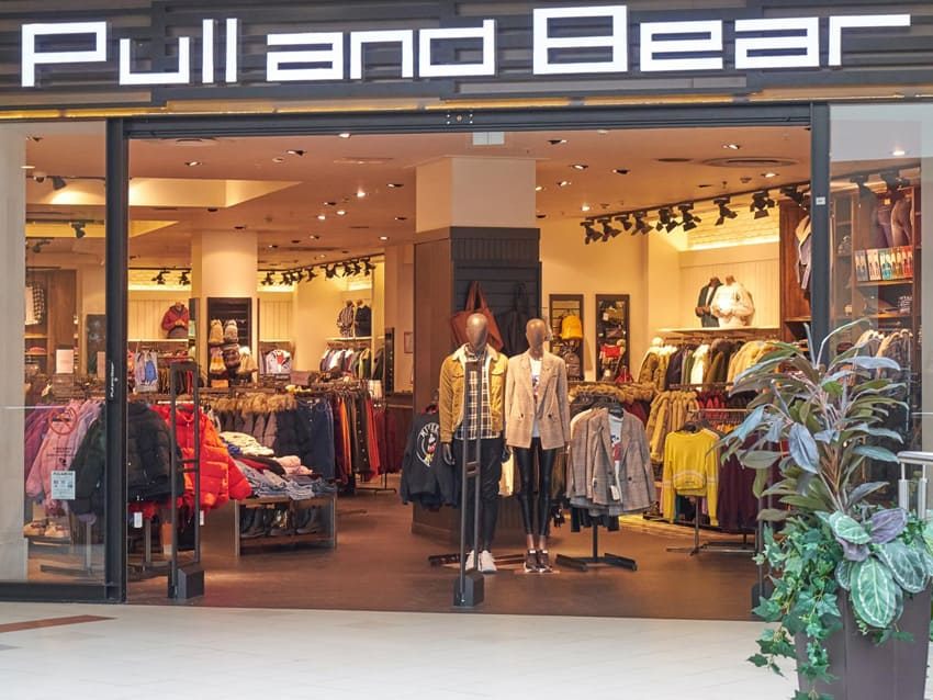 Электромонтаж для магазина pullandbear