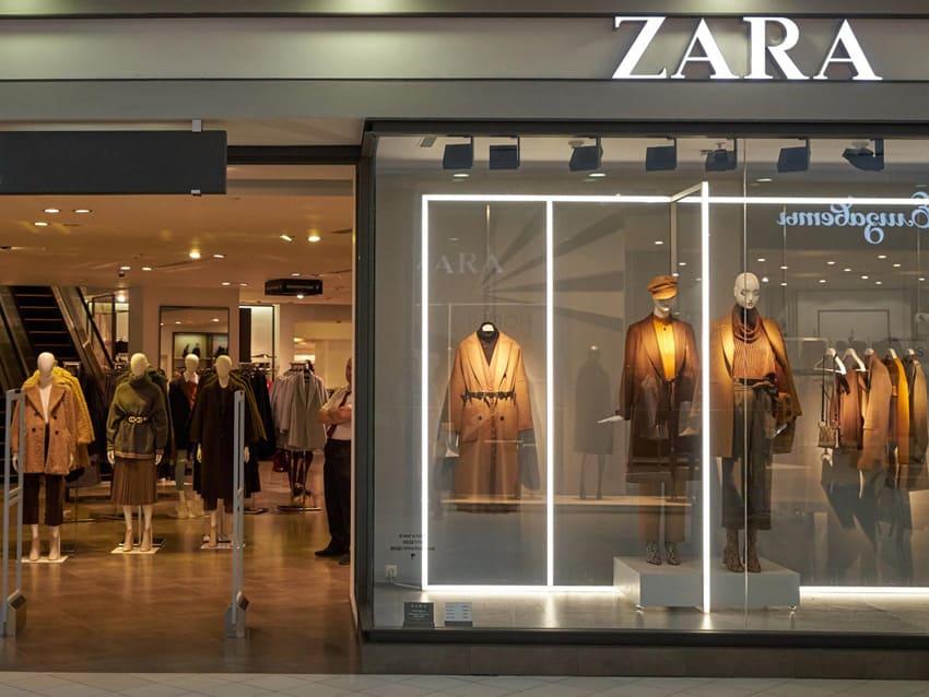 Электромонтаж для магазина zara